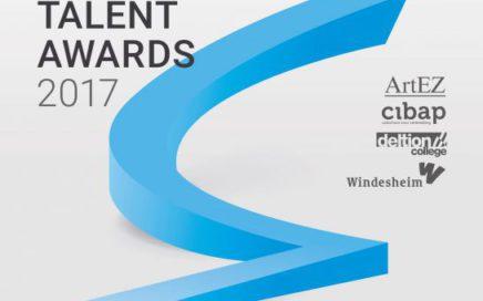 Flyer van eindexamen tentoonstelling Langhuis talent awards 2017