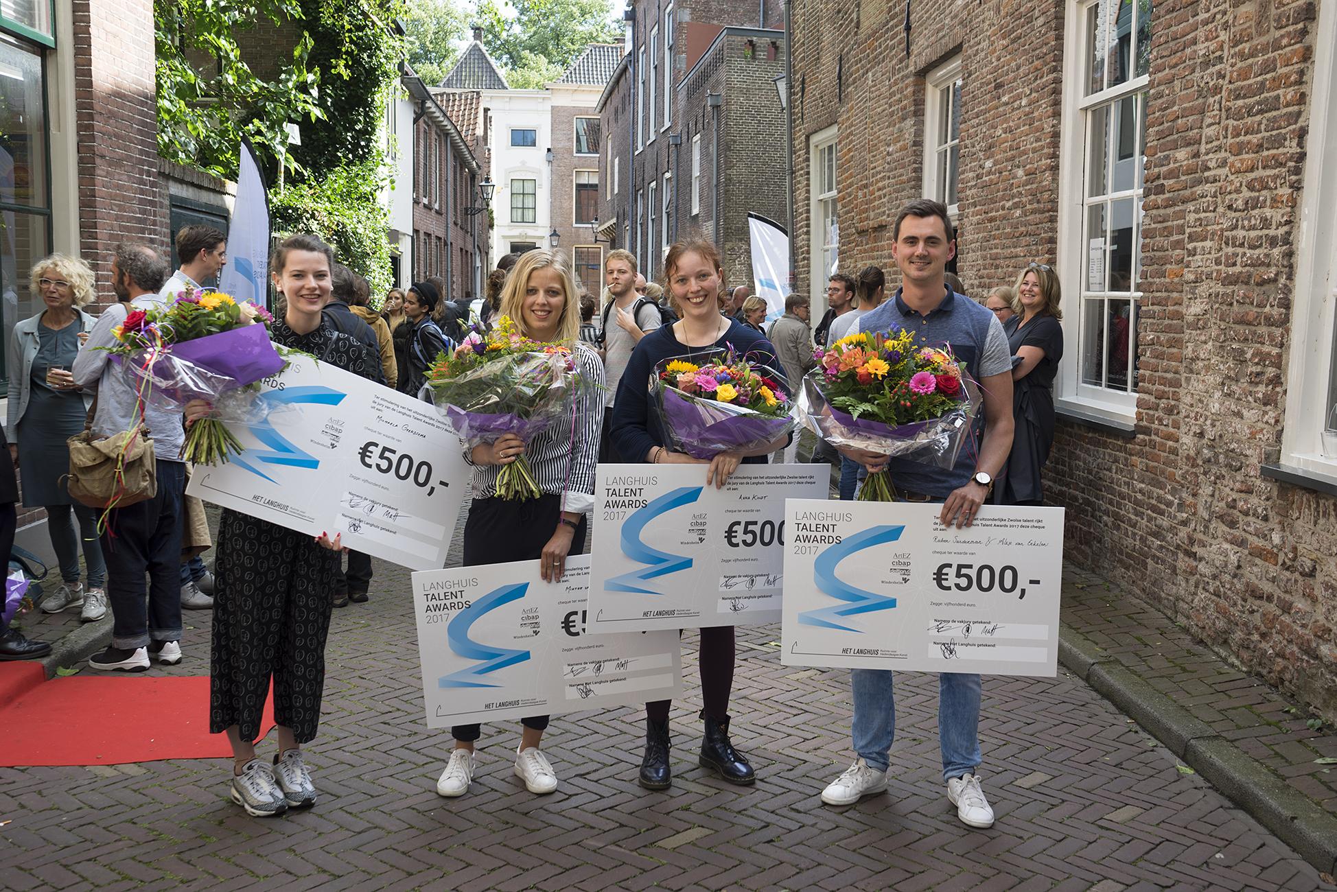Winnaars het Langhuis talent awards 2017