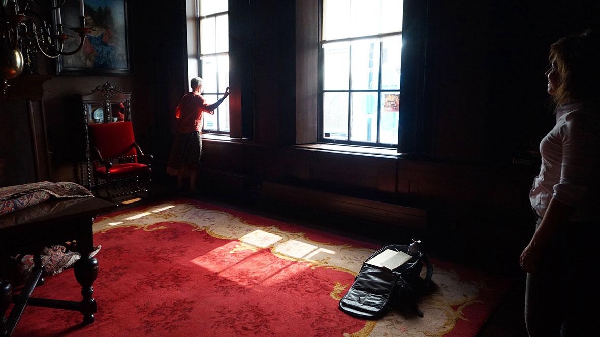 proces-foto's- terug-naar-de-toekomst-expositie-kunstruimte- langhuis-vrouwenhuis- zwolle2019