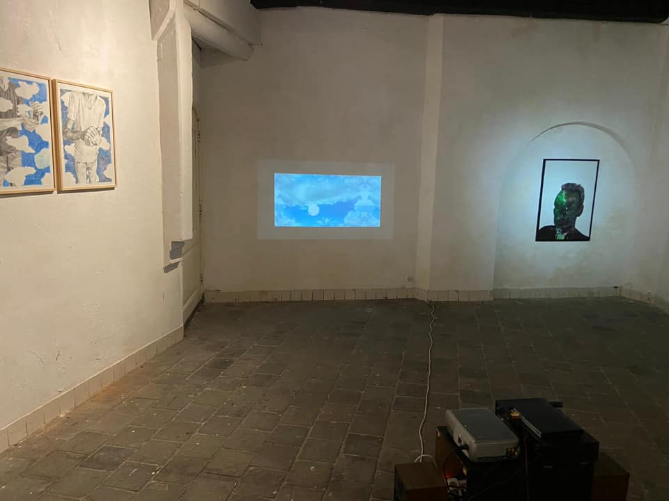 Videokunst van Johan Kuipers in Kunstruimte het Langhuis in Zwolle.