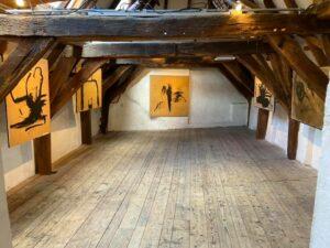Kunstenaar Henk Heideveld exposeert in het Zwolse Langhuis