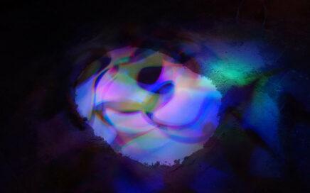 Lichtkunst van MAFarts in Kunstruimte het Langhuis in Zwolle
