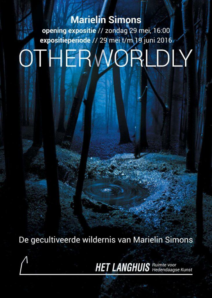 Affiche De gecultiveerde wildernis van Marielin Simons - expositie