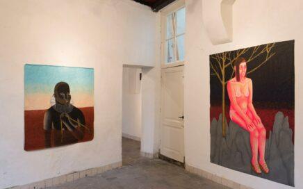 Expositie TOTEM van de Utrechtse kunstenaar Anne Forest in Kunstruimte het Langhuis.