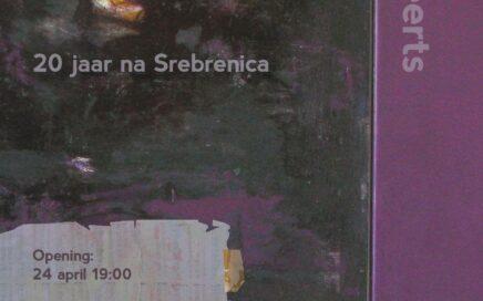 Affiche voor expositie Verloren Onschuld van Peter Geerts